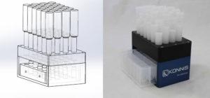 Filter column assembly