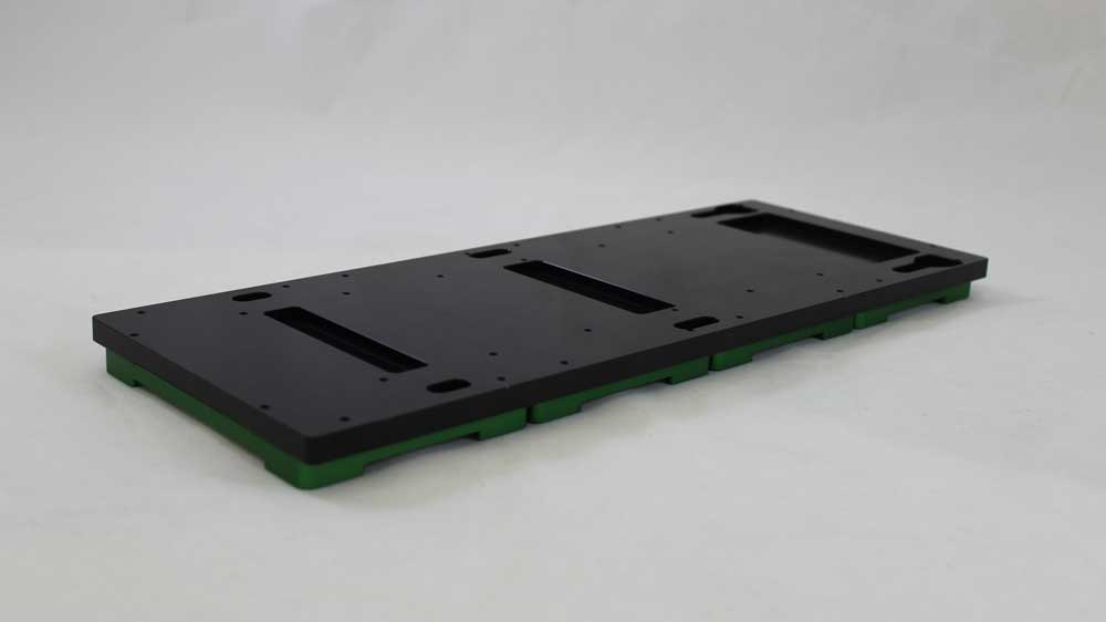 Tecan compatible 4 position flat microplate SBS carrier