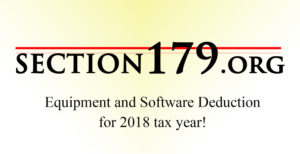 section 179 equipment tax deduction